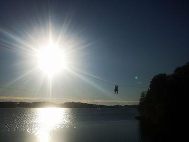 Les Lacs de l'Eau d'Heure avec la Famille Bonvoyage