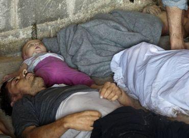 Des cadavres de Syriens tués par armes chimiques, selon les rebelles