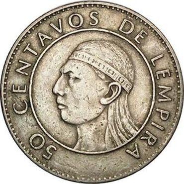 50 centimes de Lempira - monnaie hondurienne