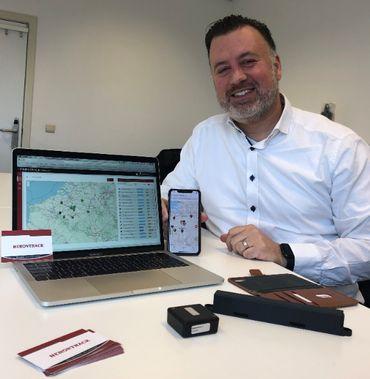 Sébastien De Grauwe, Directeur général de la société HeronTrack