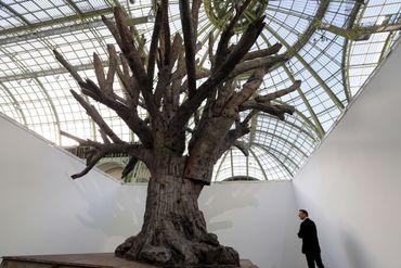 Le colossal arbre de fer de l'artiste chinois Ai Wei Wei