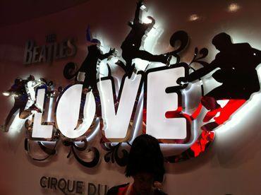 Partez à Las Vegas voir ''Love'' des Beatles