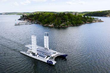 Le catamaran Energy Observer