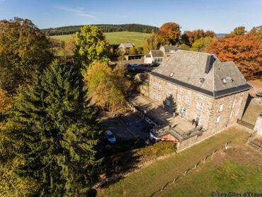 Le Château de Wanne est un endroit convivial situé entre Trois-Ponts, Stavelot et Vielsalm