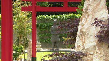 Le Japon dans un jardin à Mariembourg