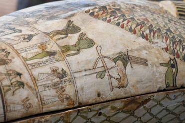 L'Egypte dévoile une nouvelle fois des sarcophages vieux de plus de 2000 ans découverts à Saqqara