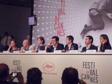 """L'équipe du film """"Blood Ties"""" en conférence de presse"""