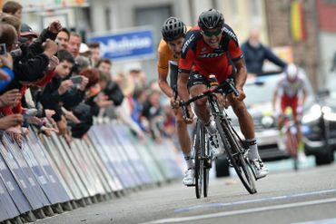 Greg Van Avermaet produit son effort