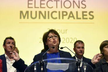 Martine Aubry (PS), réélue de justesse maire de Lille
