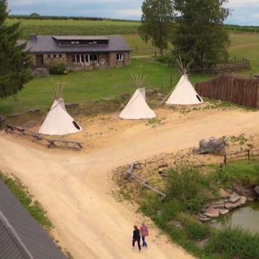 Bison ranch d'Orchimont : de l'inattendu dans un petit village !