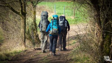 230 kms de randonnées balisées
