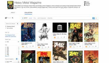 """""""Heavy Metal"""" : les archives du magazine SF sont à disposition en ligne"""