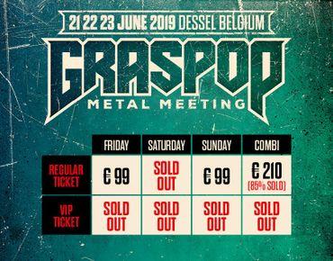 Graspop dévoile les derniers noms