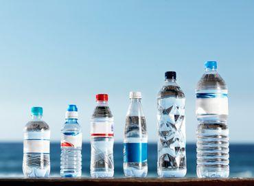 Prix de l'eau en bouteille.