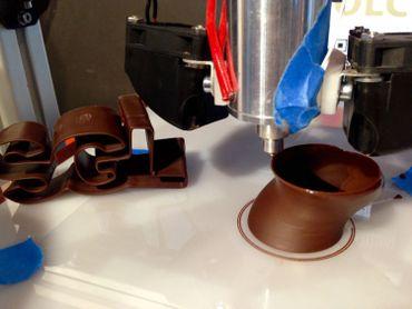 Technique de création chocolatière à base d'une imprimante 3D