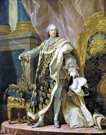 Louis XV, par Louis-Michel Van Loo