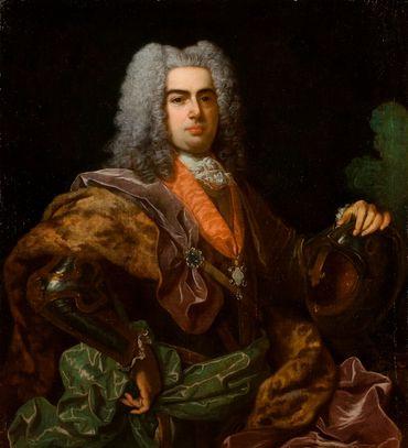 Jean V en 1729, par Jean Ranc