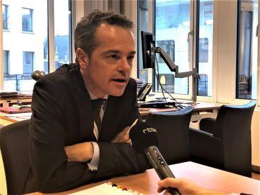 """Axel Kenes: """"Malheureusement, notre projet de résolution a été bloqué par un double veto""""."""