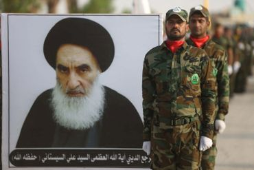 Ayatollah irakien Ali Husaini al-Sistani