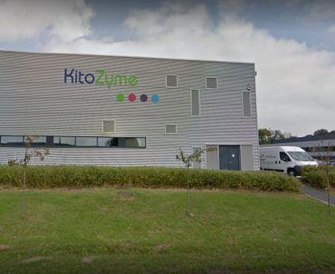 Les locaux de la PME KitoZyme, à Herstal.