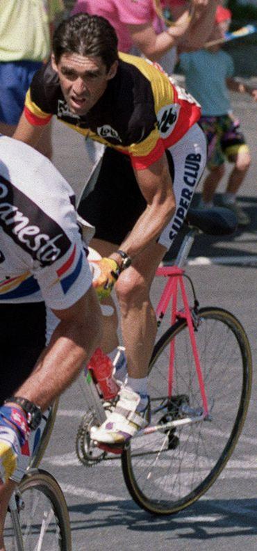 Claudy Criquielion sur le Tour de France 1990