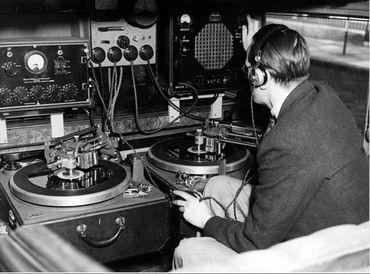 Un technicien de la radio belge à Londres