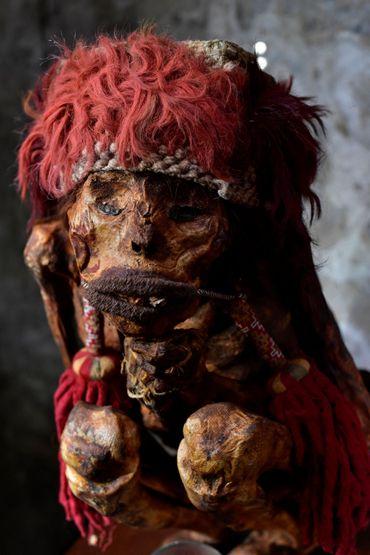 Une momie péruvienne semblable à celle de Rascar Capac