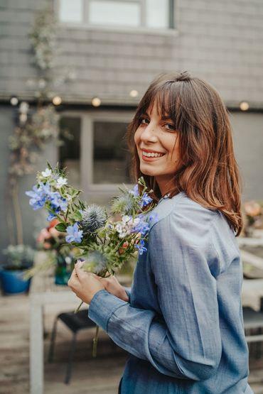 Devenir fleuriste était le rêve de Manon et c'est en 2020 qu'elle a pu le concrétiser