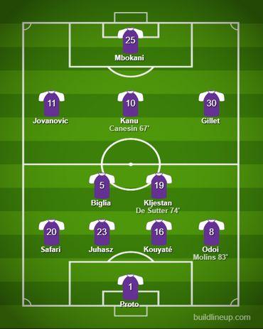 Rétro PO1 : 6 mai 2012 - le penalty du 31e titre d'Anderlecht