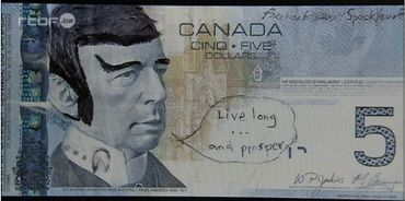 Wilfrid Laurier détourné en Spock