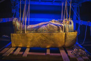 """L' Exposition """"Toutankhamon, à la découverte du pharaon oublié """"qui devait se terminer le 31 mai prochain, sera prolongée jusqu'au 30 août 2020."""