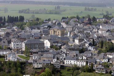La petite ville de Neufchâteau, en 2006