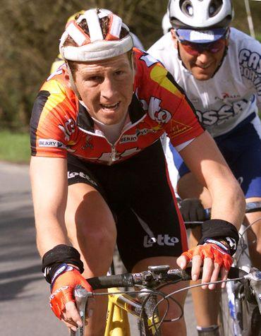 Rik Verbrugghe et Ivan Basso