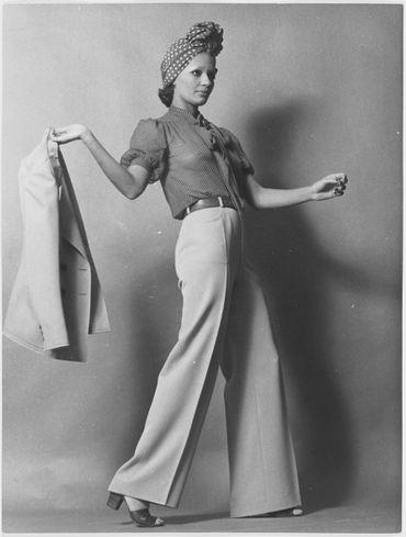 Tailleur-pantalon (blouse)