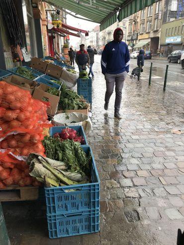 Les épiceries africaines sont nombreuses dans le quartier.