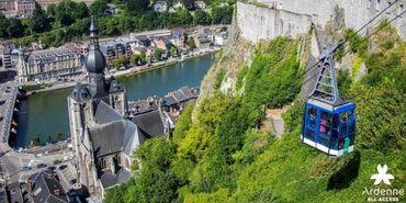 Saviez-vous que l'unique téléphérique de Belgique, se situe à la citadelle de Dinant ?