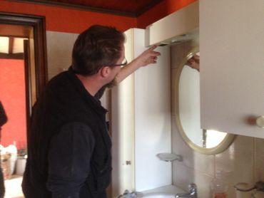 """La salle de bain, lieu """"à risque"""" par excellence, pour les habitants"""