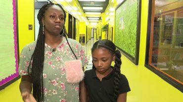 Janay a inscrit sa fille dans cette école et deviendra bientôt enseignante à Ember.