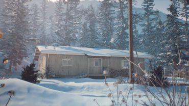 La maison où vivent Charles et Chris Eriksen