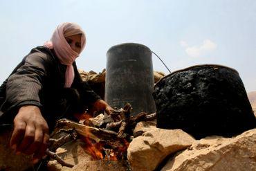 Une villageoise de Susya
