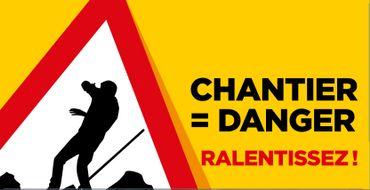 Chantier danger ! La Sofico mène campagne pour sensibiliser les automobilistes à adapter leur vitesse