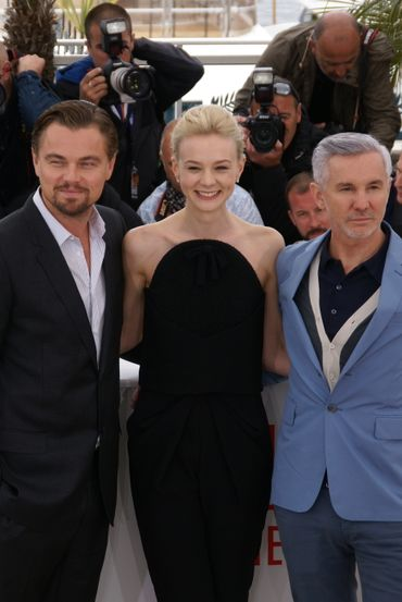 Leonardo DiCaprio, Carey Mulligan et Baz Luhrmann