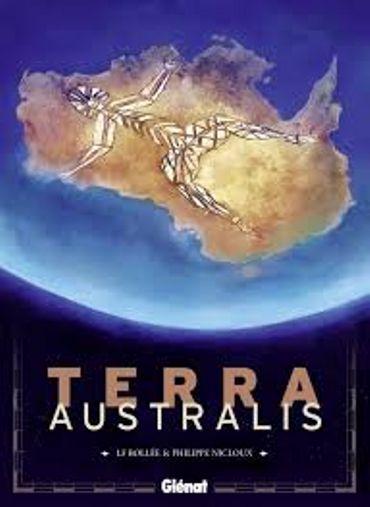 """""""Terra Australis"""" de LF Bollée et Philippe Nicloux (Glénat)."""