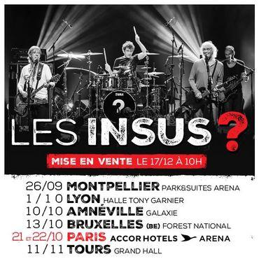 Les Insus à Bruxelles