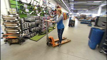 Au magasin Décathlon de Namur les employés gèrent eux-mêmes l'organisation du travail.
