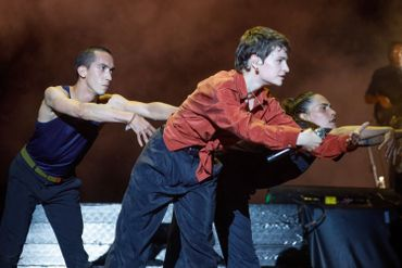 Christine & The Queens enflamme le BSF: regardez nos belles photos