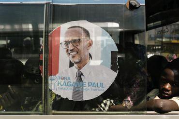 Paul Kagame a développé une identité visuelle tournée vers la modernité lors de cette campagne.