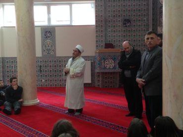 L'imam de la mosquée de Namur
