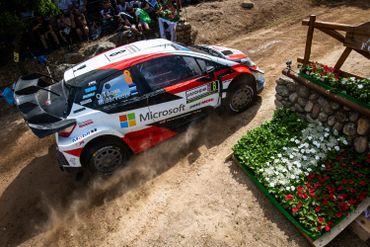La Toyota Yaris WRC d'Ott Tanak