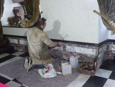 Rénovation du château de Chimay
